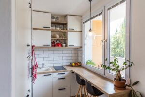 choisir les meubles d'une petite cuisine